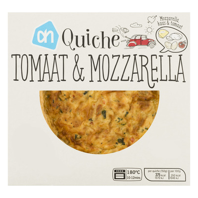Huismerk Mini quiche tomaat mozzarella