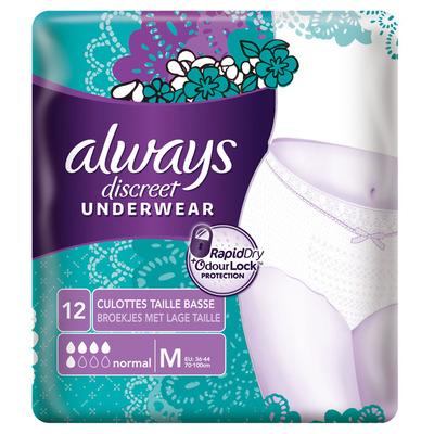 Always Discreet underwear normal M