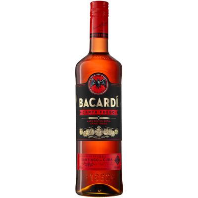 Bacardi Carta Fuego