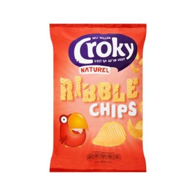 Croky Naturel Ribble Chips