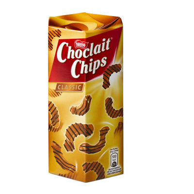 Nestlé Choclait chips brown