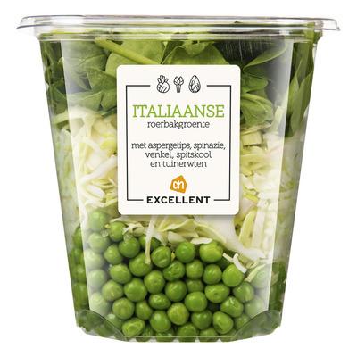 AH Excellent Italiaanse roerbakgroente aspergetips