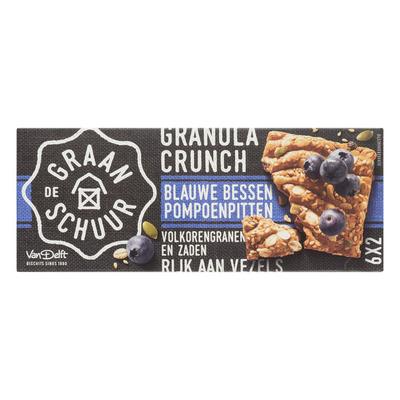 De Graanschuur Granola crunch blauwe bessen