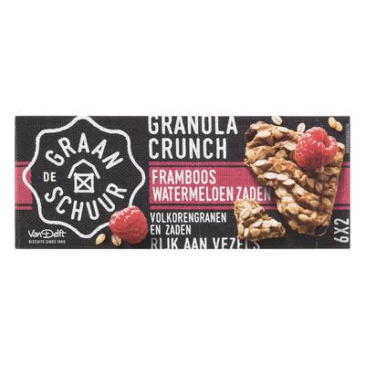 De Graanschuur Granola crunch framboos