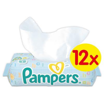 Pampers Babydoekjes fresh clean 12-pak