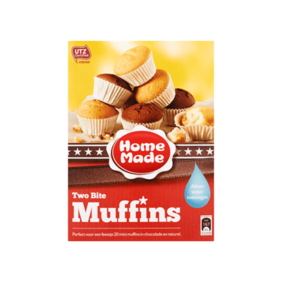 HomeMade Complete Mix voor Two Bite Muffins
