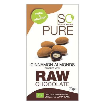 So Pure Raw chocolate cinnamon almonds