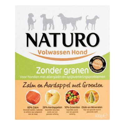 Naturo Zalm en aardappel voor de hond