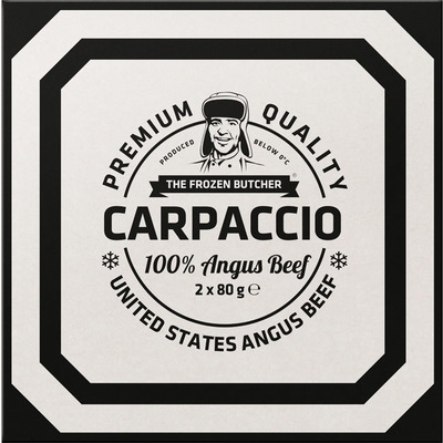The Frozen Butcher US Angus carpaccio