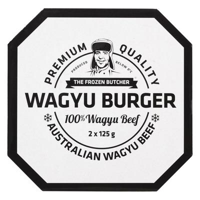 The Frozen Butcher Wagyu burger 100% wagyu beef
