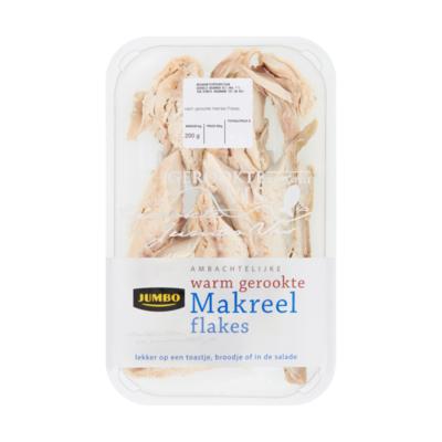 Huismerk Ambachtelijke Warm Gerookte Makreel Flakes