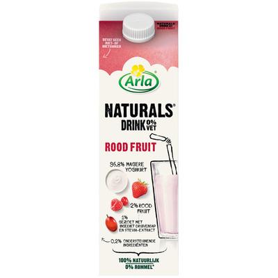 Arla Naturals drink roodfruit 0%