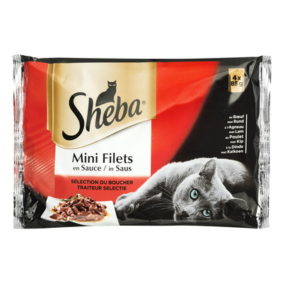 Sheba Mini filets in saus traiteur selectie