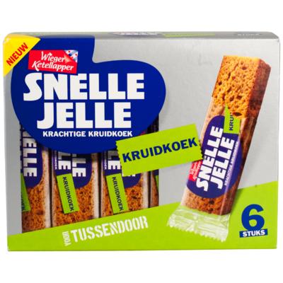 Wieger Ketellapper Snelle Jelle kruidkoek