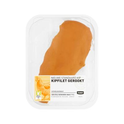 Huismerk Nieuwe Standaard Kip Kipfilet Gerookt