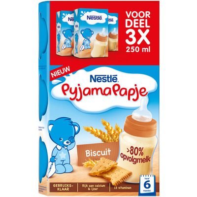 Nestlé Pyjamapapje biscuit voordeel