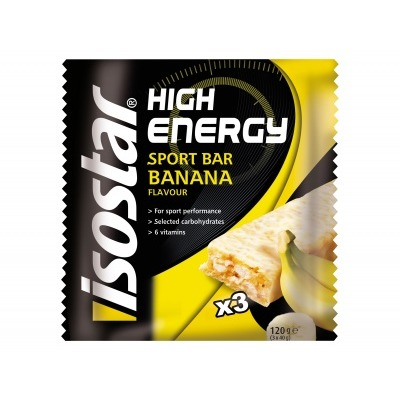 Isostar High energy reep banaan