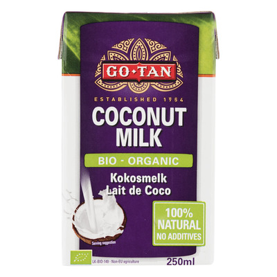 Go-Tan Organic coconut milk bio