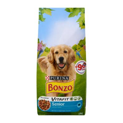 Bonzo Vitafit Senior met Kip en Toegevoegde Groenten