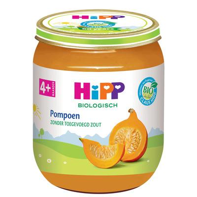Hipp Pompoen biologisch 4 maanden