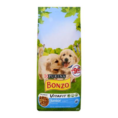 Bonzo Vitafit Junior met Kip, Toegevoegde Melk en Groenten