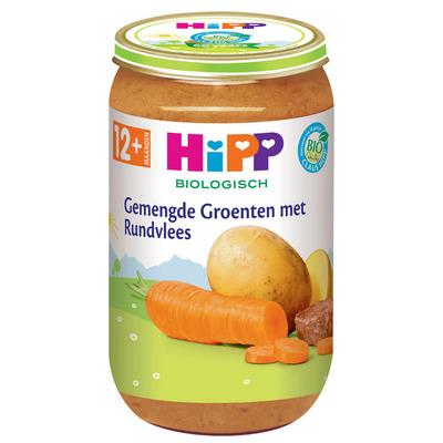 Hipp Gemengde groenten biologisch 12 maanden