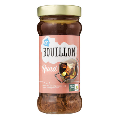 Huismerk Bouillon rund