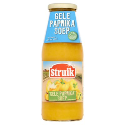 Struik Gele paprikasoep
