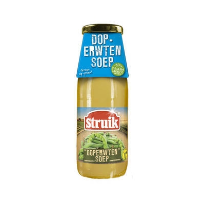 Struik Doperwtensoep - vegetarisch