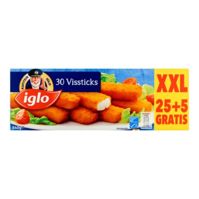 Iglo Vissticks 30 Stuks XXL
