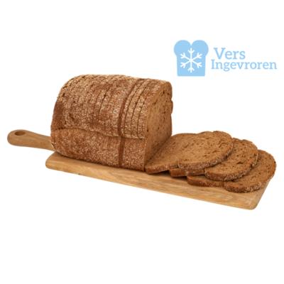 Goudeerlijk Gesneden Donker Meergranen Brood Heel (Vers Ingevroren)