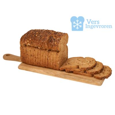 Goudeerlijk Gesneden Korn Brood Heel (Vers Ingevroren)