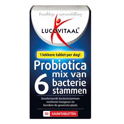 Lucovitaal Probiotica kauwtabletten