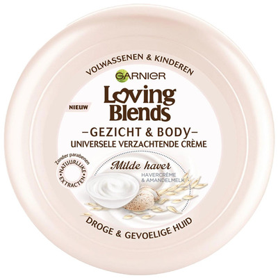 Garnier Loving Blends gezicht & body milde haver
