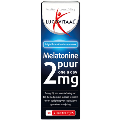 Lucovitaal Melatonine forte 2 mg