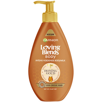 Garnier Loving Blends honing goud bodymilk