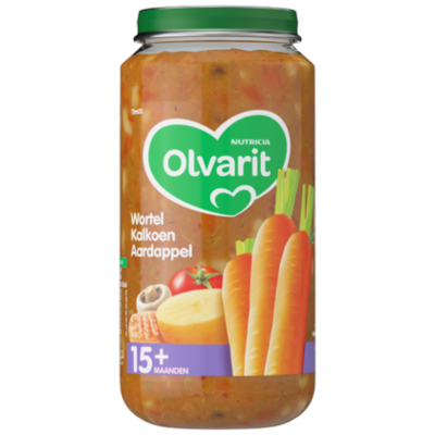 Olvarit 15+ Wortel kalkoen aardappel