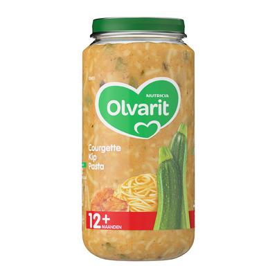 Olvarit Courgette kip pasta 12+ mnd