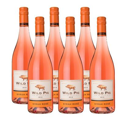 Wild Pig 6 x Syrah rosé