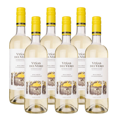 Viñas del Vero 6 x Macabeo Chardonnay