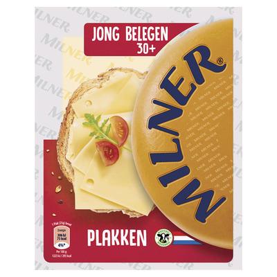 Milner Jong belegen kaas 30+ plakken