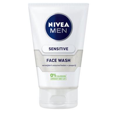 Nivea For men face wash sensitive