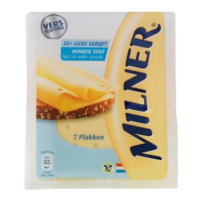 Milner Minder zout 30+ plakken