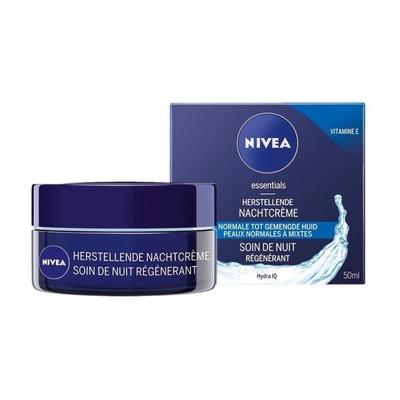 Nivea Essentials Herstellende Nachtcrème