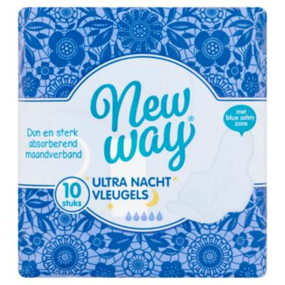 New Way Maandverband ultra nacht wing