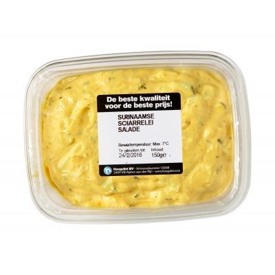 Huismerk Surinaamse vrije uitloopei BL salade