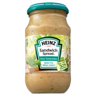Heinz Sandwich Spread Fijne Tuinkruiden 300 g