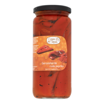 Costa del Tapas Geroosterde Rode Paprika