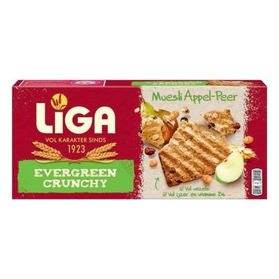 Liga Evergreen Crunchy Appel & Peer