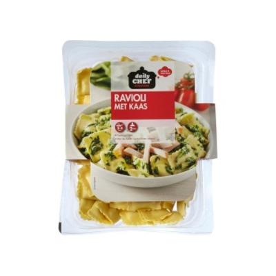 Huismerk Ravioli met kaas